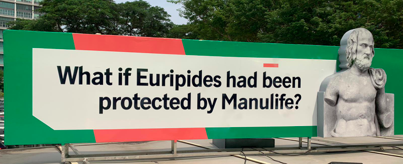 What if Euripides had been protected by Manulife?